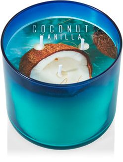 Coconut Vanilla 3-Wick Candle - Home Fragrance 1037181 - Bath & Body Works