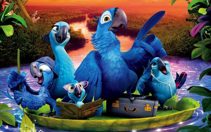 2014 Rio 2 Movie Wallpaper HD Collection