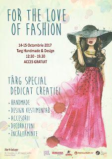 HandmadeFairs: Weekend Fashion & Handmade 14-15 octombrie 2017