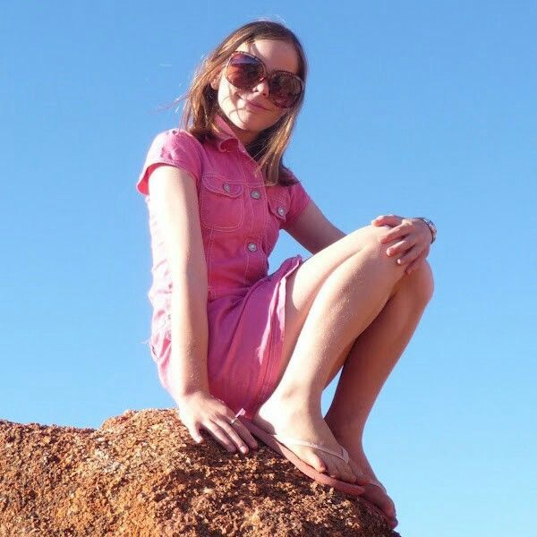 Me at the Devil Marbles, Northern Territory, Australia.