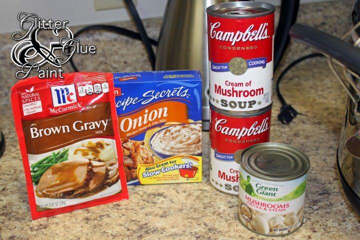 Crock Pot Beef Tips & Noodels