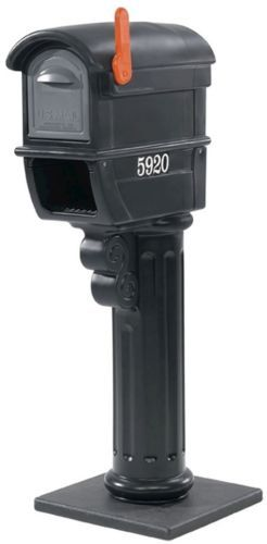 Mailboxes and Slots 20599: Step2 Mailmaster Wrought Iron Plus Mailbox Outdoor Mail Box Newspaper Holder New -> BUY IT NOW ONLY: $75.21 on eBay!
