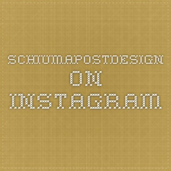 schiumapostdesign on Instagram