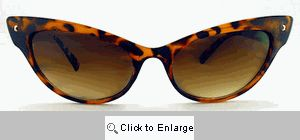 Enchantress Cateye Sunglasses - 269 Tortoise
