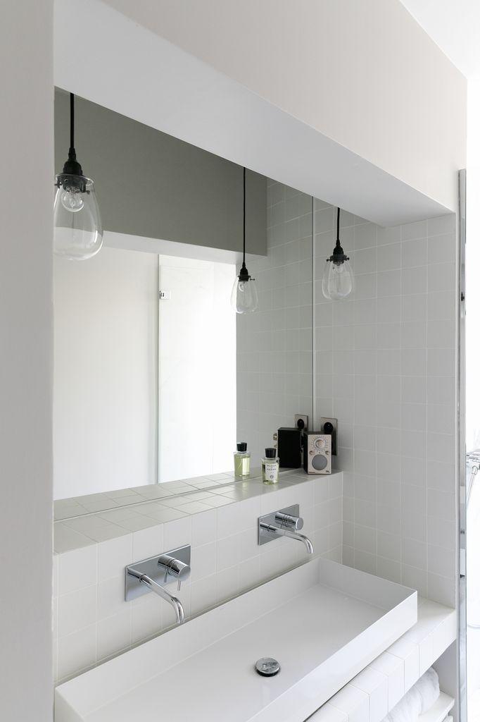 Salle de bain  Appartement parisien de 250m2- GCG Architectes
