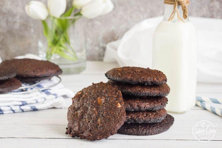 Mogyorós brownie keksz (cukor-és lisztmentes, paleo)
