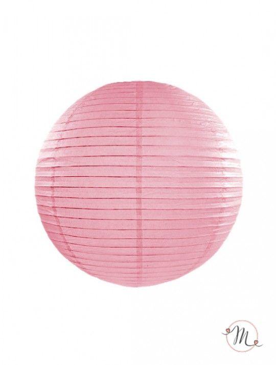 Lanterna decorativa di carta rosa. Ideali per allestire e decorare feste di ogni tipo. Misure disponibili: 25 cm o 35 cm. #matrimonio #weddingday #ricevimento #wedding #lanterne #decorazioni #sconti #offerta #carta #decorazioniincarta #weddingideas #ideasforwedding