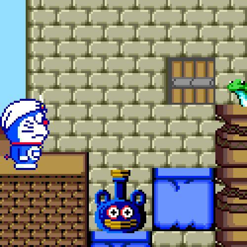 bottle service - Doraemon: Nobita no Dorabian Night (Now Production - PC Engine - 1992)