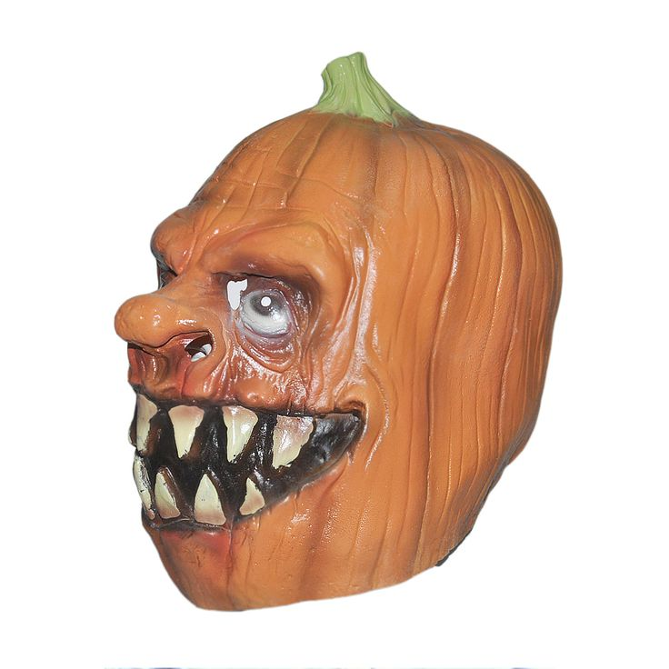 ==> [Free Shipping] Buy Best Halloween Pumpkins Costume Prop Horror Adult Silicone Rubber Latex Face Mask Funny Fancy Dress Cosplay Online with LOWEST Price | 32628868739