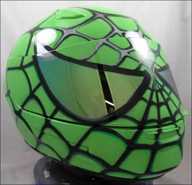 25 Cool and Creative Motorcycle Helmet Designs