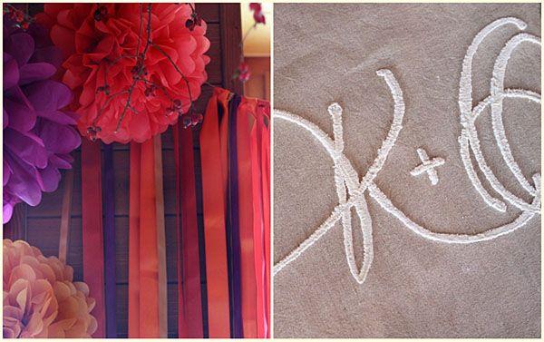 wedding, dekorxtar, fall, table runner, satin ribbons, lilac, orange, mustard www.dekorxtar.weebly.com www.facebook.com/dekorxtar