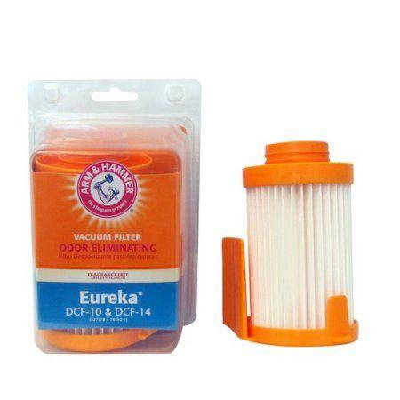 Arm & Hammer Odor Eliminating Vacuum Filter, Eureka DCF 10, White
