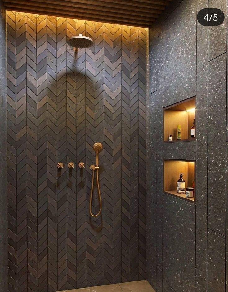 Wundervolle 12 besten modernen Duschen, um Ihre Badrenovierung zu inspirieren architecturian.co … Die Duschkabine ist eine ideale Lösung für kleine … – Architecturian