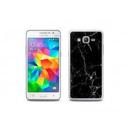 Samsung Galaxy Grand Prime - etui na telefon Fantastic Case - czarny marmur