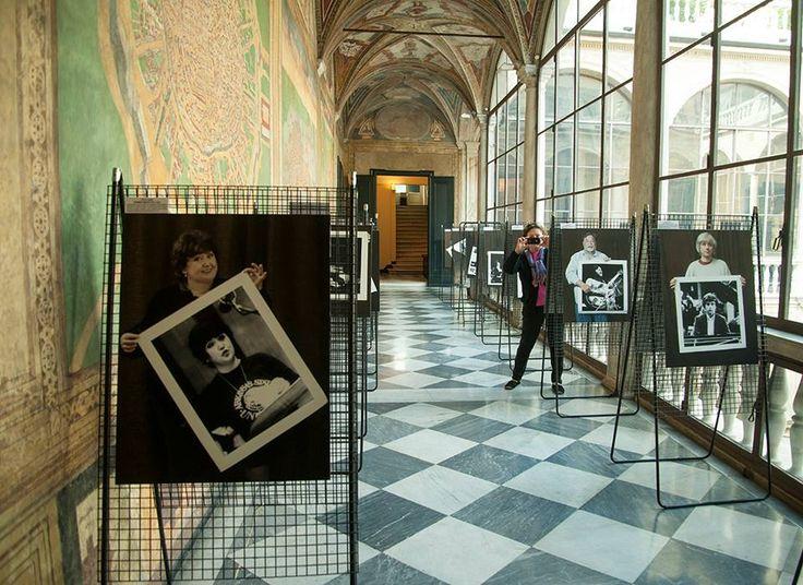 Kincses Veronika  -  2015.10.20. Szigeti Tamás kiállításán