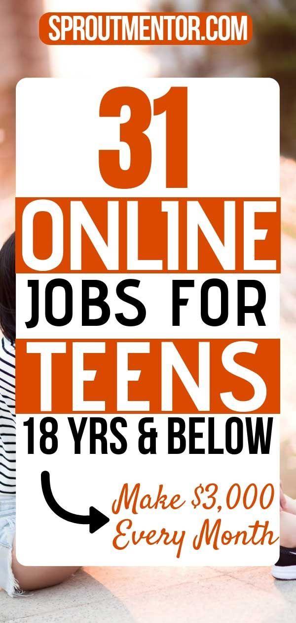 31 Part Time Online Jobs From Teens Near Me Jobs For Teens Online Jobs For Teens Online Jobs