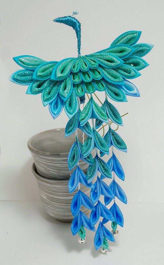 25 Best Ideas About Kanzashi Flowers On Pinterest