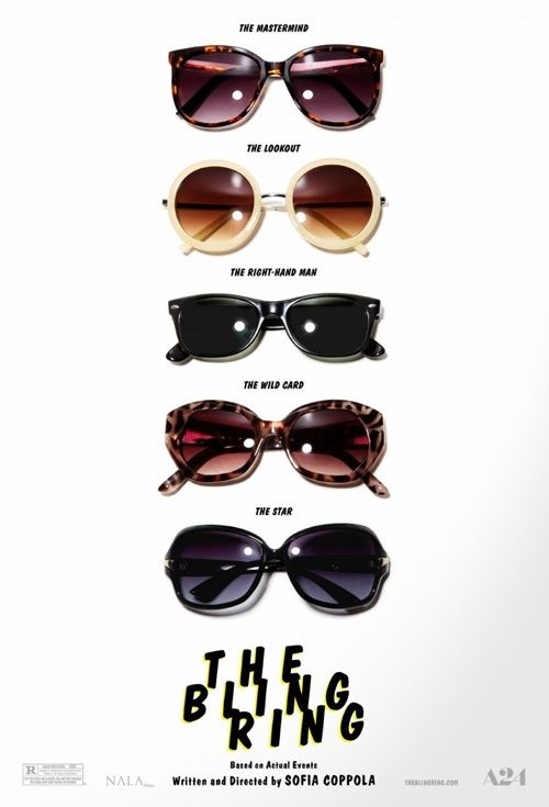 The Bling Ring, Movie Poster