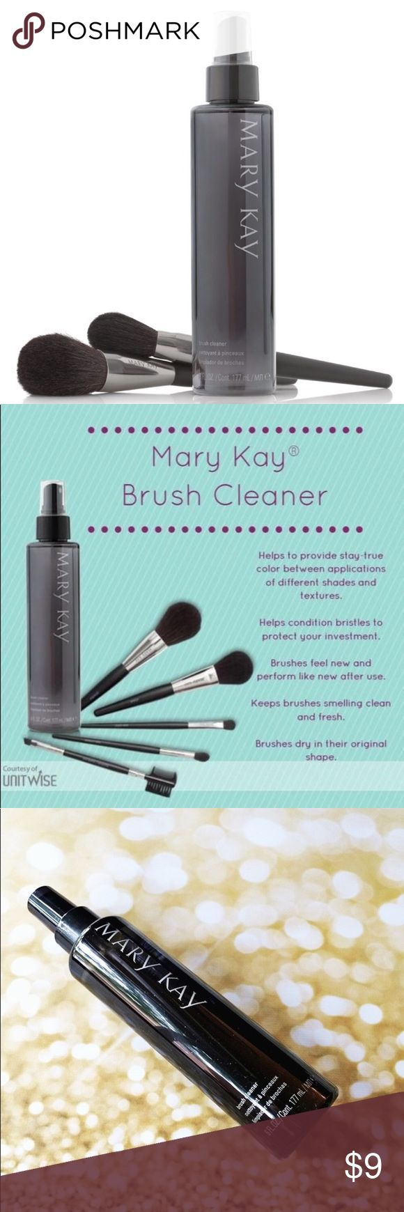 Makeup Brush Cleaner 💜This fast-drying cleaner eliminates makeup residue from… ,  #Brush #C…