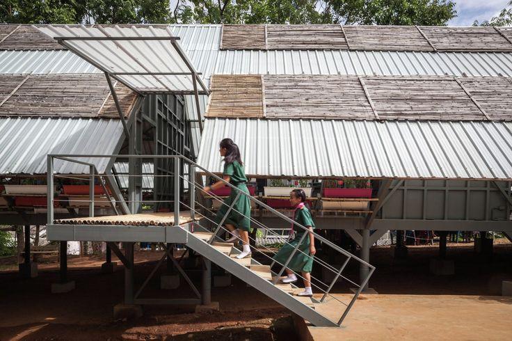 Gallery - Bann Huay San Yaw- Post Disaster School / Vin Varavarn Architects - 7