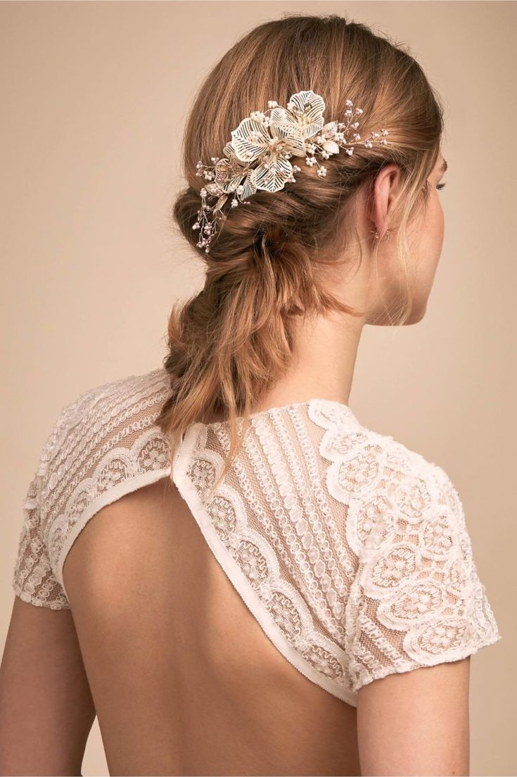 Best Wedding Hairstyles : Courtesy of BHLDN Bridal Accessories