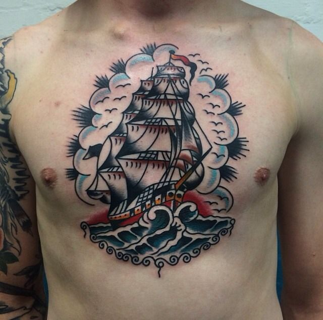 Pin De Andrew Mougios En Tattoos: Pin De Agusto Tattoo En Flash & Old SchoolTattoo
