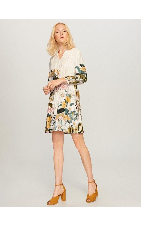 14ddb151 Sukienka w kwiaty, Sukienki, kombinezony, wielobarwn, RESERVED ...