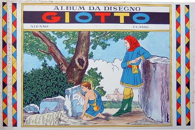 Album da disegno della Giotto
