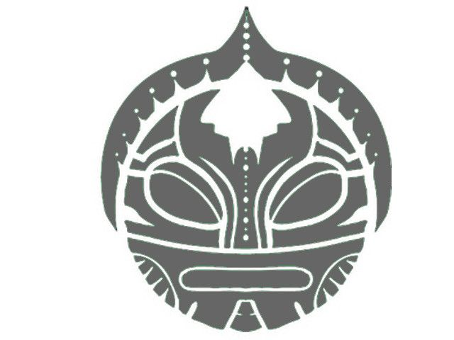 100 Taino Sun Tattoo Petroglyphs Black Ink