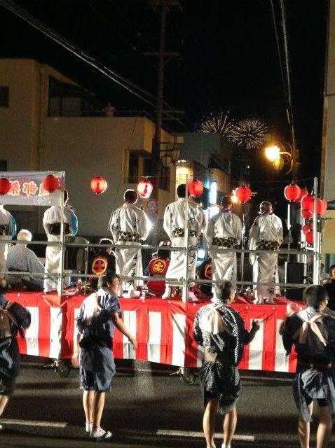 2013年8月3日 土岐市花火大会。