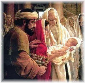 """JEZUS en MARIA Groep.: januari 2014: """"De opdracht van Jezus in de tempel (lucas2:22-25 ) :St Jozef, Maria en de profeet Simeon, met het kind Jezus."""" http://jezusmariagroep.blogspot.be/2014_01_01_archive.html"""