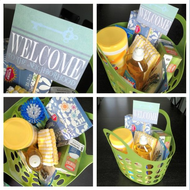 Wedding Gift Ideas For Neighbors : gift basket ideas cute gift ideas gift baskets welcome baskets new ...