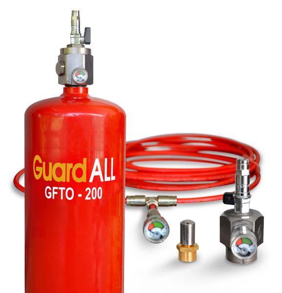 GuardALL fire suppression system ymampu menjaga ruangan anda selama 24 jam