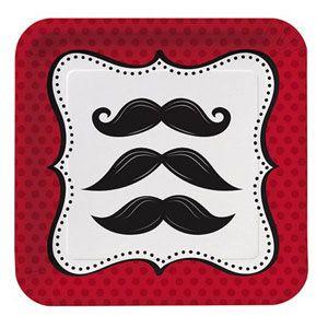 Moustache Plates