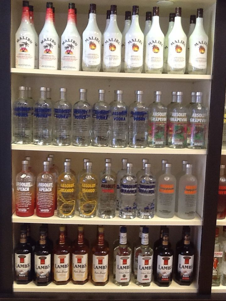 Malibu, Wiser's Deluxe, Absolut vodka, Beefeater gin.  Mix and match any 3 bottles for $45.00 CDN. (No tax on top of price)  Buy any 2 bottles for $32.00 Westcoastdutyfree.com