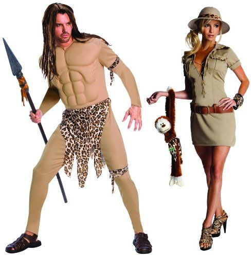 324 best halloween costumes images on pinterest costumes fancy halloween halloween costumes couples halloween costumes diy tarzan hunter jane tarzan solutioingenieria Gallery