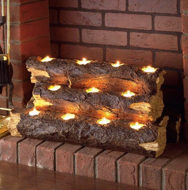 1000 Ideas About Fireplace Candle Holder On Pinterest