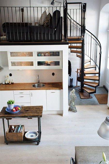 Las 25 mejores ideas sobre peque o loft en pinterest - Decoracion loft pequeno ...