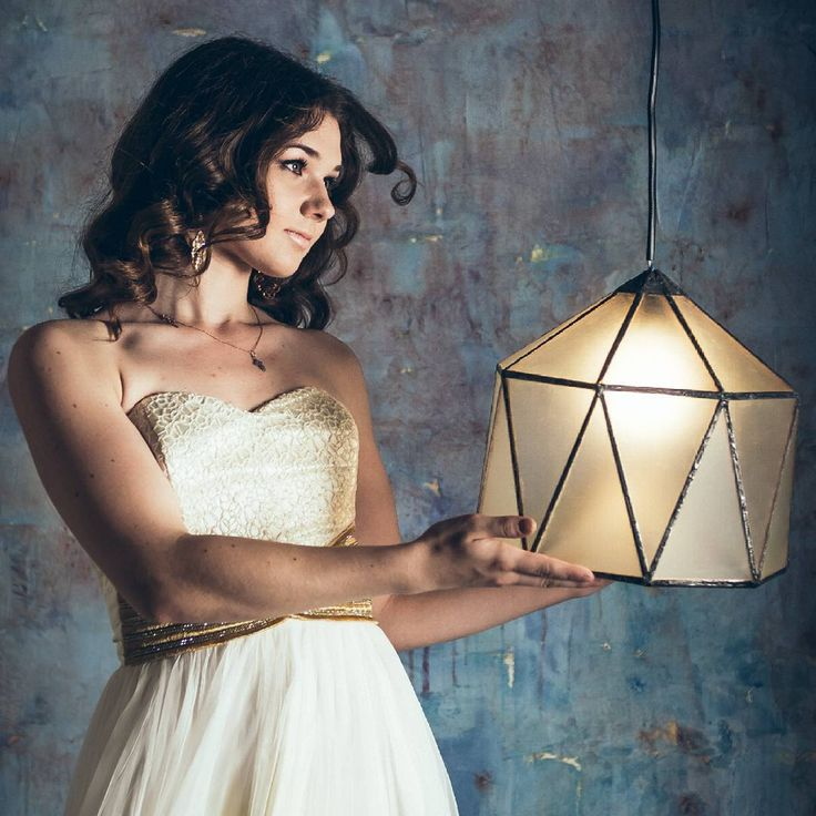 """Designer Mishael Rihter^- """"my lamp """"Yurt(c)"""". #lightdesign #loft #loft #light #lighting design #design #industrialdesign #loftdesign #lamp #designer #lighting #pendantlamp #lamp #light #design #podozritelno #promyshlennyy #art #poligonal #artist #geometric #tiffany #grunge #girl #gothic #goth #vintage #vintage #nicegirl #mystic"""
