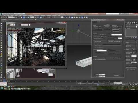 Vray RT 3.0 - Настройка. Быстрый рендер налету в 3Ds Max - YouTube
