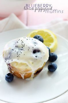 Hey guys! It's Tiffany from Creme de la Crumb back to share another recipe with you! In the morning I love me a BIG fat lemon poppyseed muffin. I like it with lots of icing and if I can get it wa...