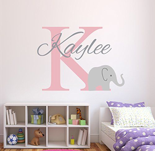 Best Images About Baby Room On Pinterest Pink Hearts And - Elephant wall decalsamazoncom elephant bubbles wall decal nursery decor baby