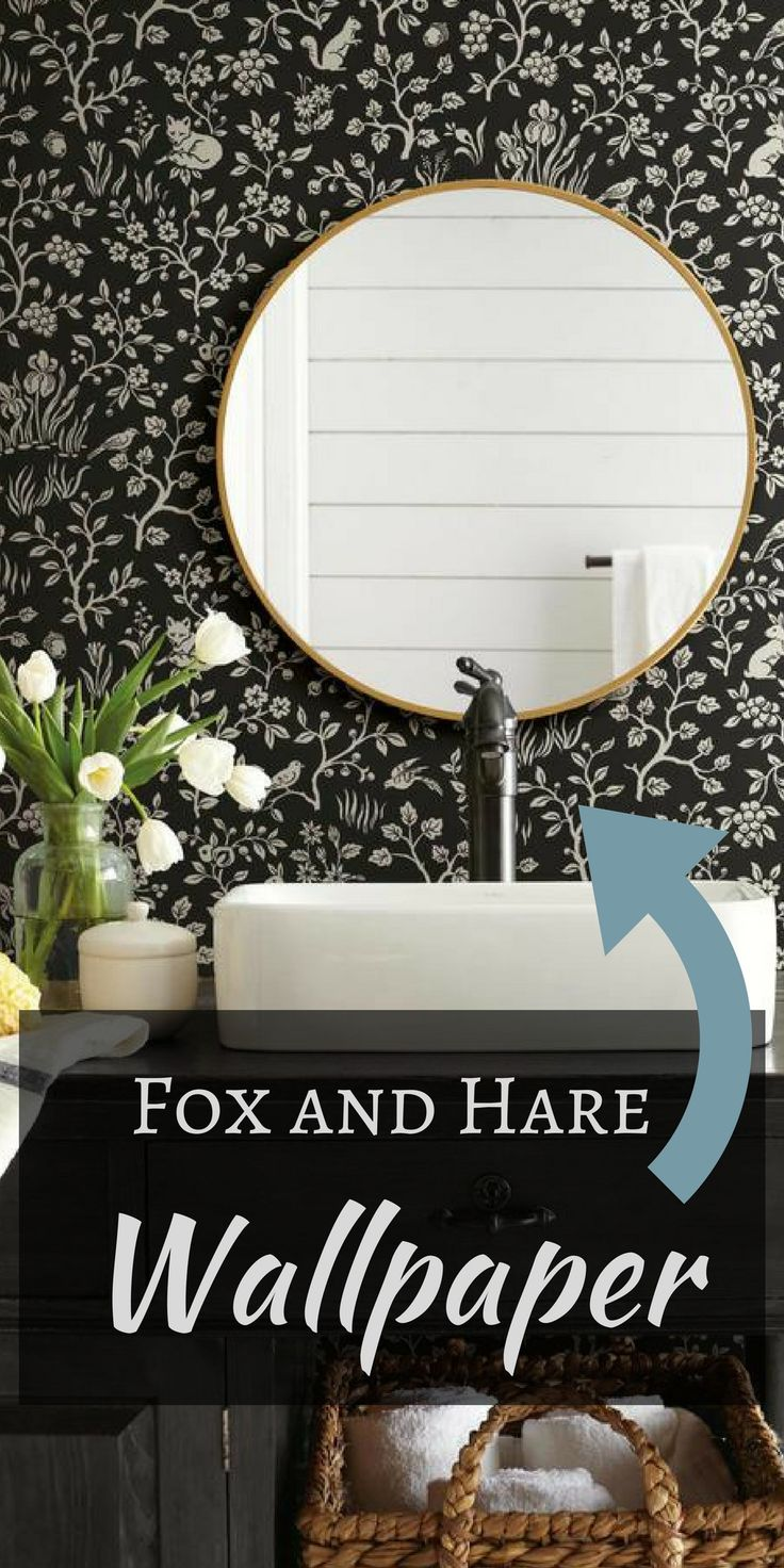Magnolia Home by Joanna Gaines   Fox and Hare Wallpaper ...