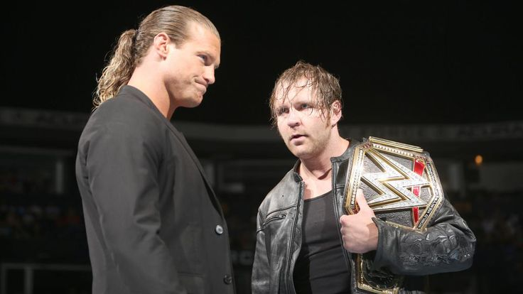 Dean Ambrose and Dolph Ziggler come face to face on SmackDown Live: photos