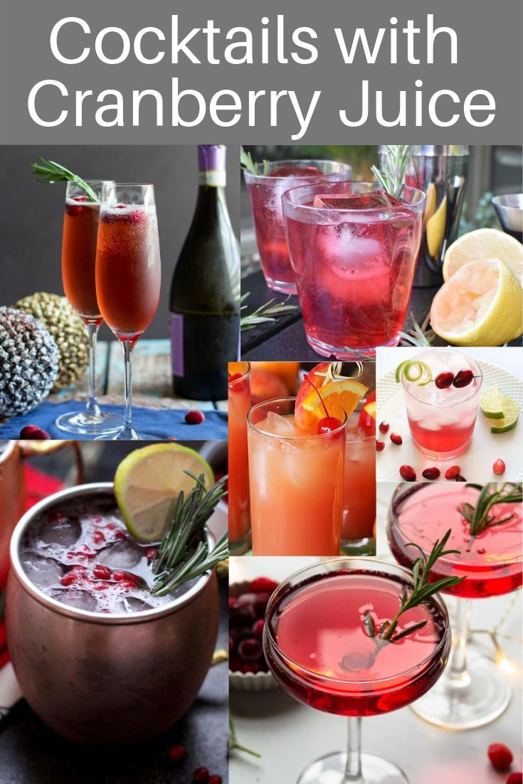 Top 10 Collection Of Coctails With Cranberry Juice Everything