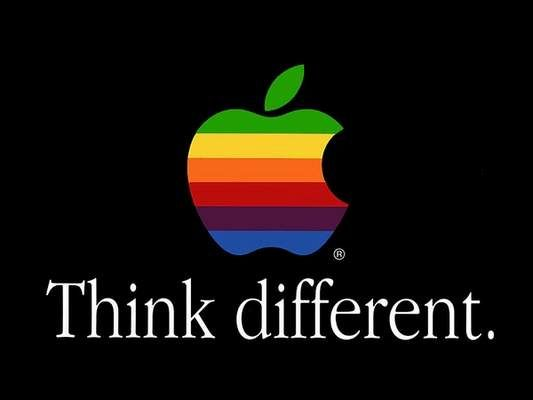 Think different. ad campaign