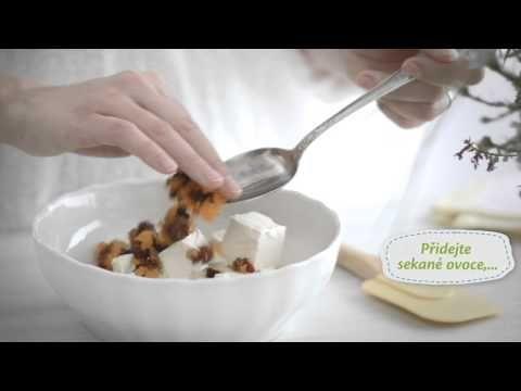 Vaříme s Lučinou - Mrkvová pomazánka s ořechy a ovocem