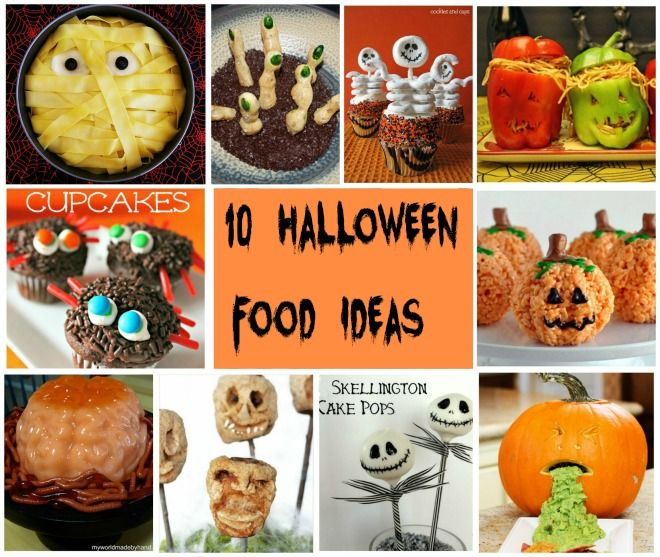 10 Halloween Food Ideas #Halloween #Party
