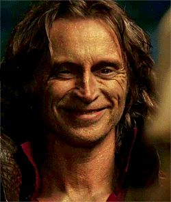 "Robert Carlyle - ""Rumplestiltskin"" on Once Upon A Time. He also plays Mr. Gold but I love his Rumplestiltskin performances more. He's so much fun to watch!"