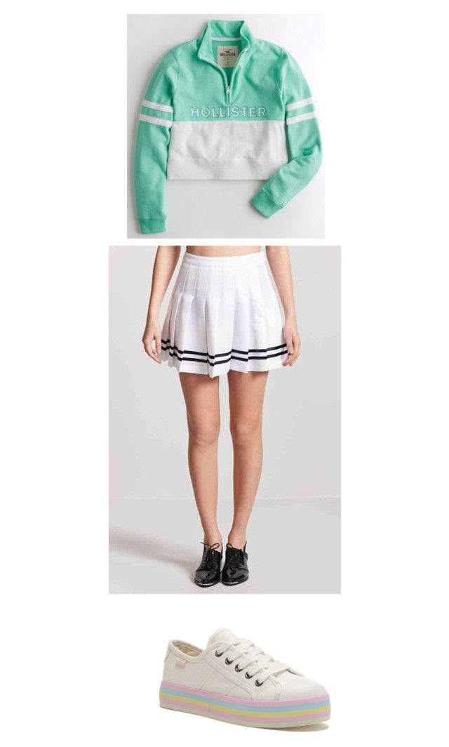 """""""Untitled #2"""" by poojah0009 on Polyvore featuring Hollister Co. and Forever 21"""
